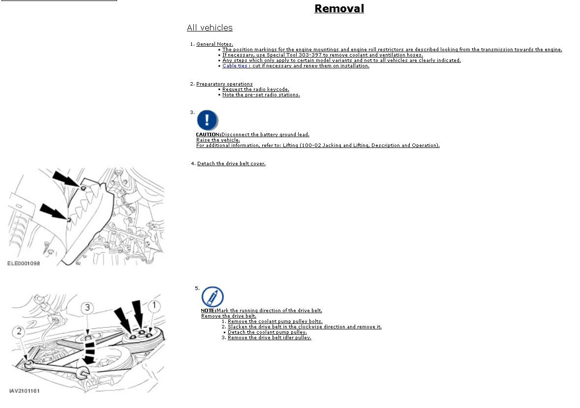 2003 18l Petrol Timing Belt Replacement Ford Focus Forum Engine Diagram 1