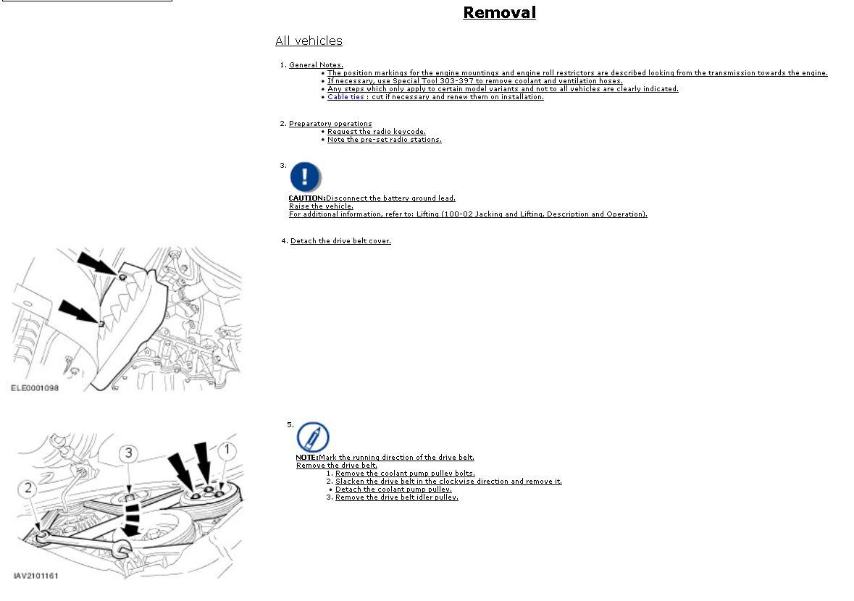 2003 18l Petrol Timing Belt Replacement Ford Focus Forum Engine Diagram 1