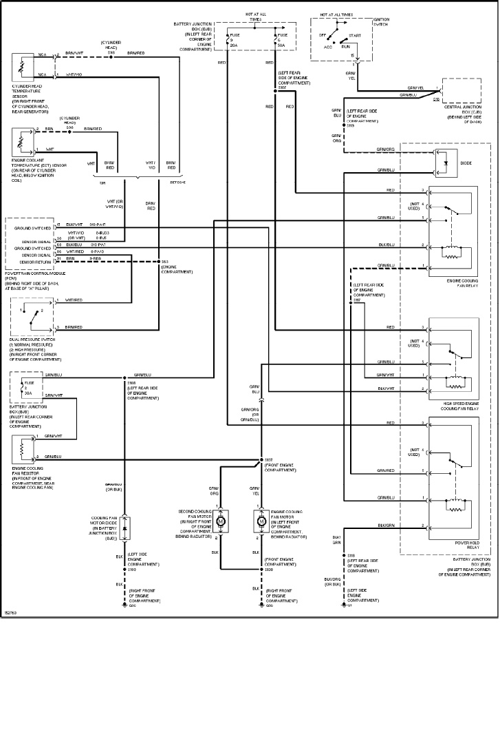 ford focus cooling fan wiring diagram 01 wagon cooling fan resistor question focus fanatics forum  01 wagon cooling fan resistor question