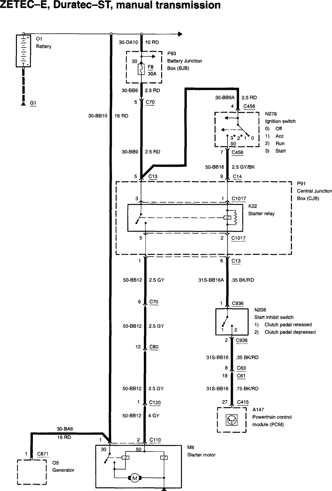 Need Wiring Diagram 2002 Focus Manual Trans - Page 2