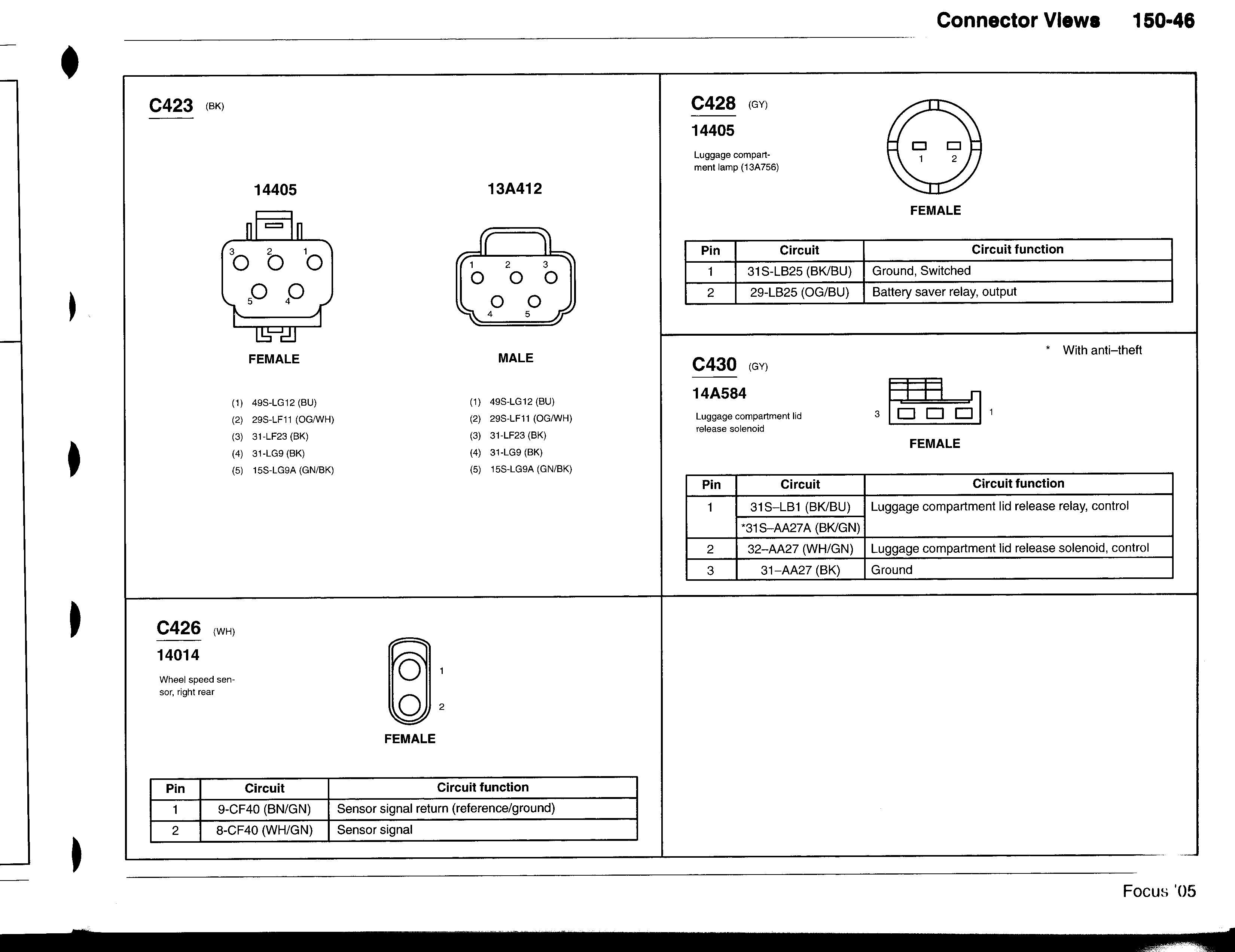 [XOTG_4463]  Trunk popper button not working   Focus Fanatics Forum   Ford Ka Wiring Diagram Boot Release      Focus Fanatics