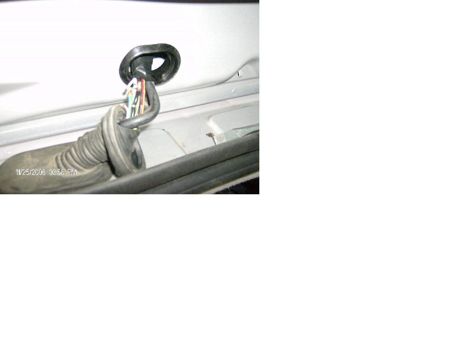 2005 Focus Zxw Rear Wiper Wiring