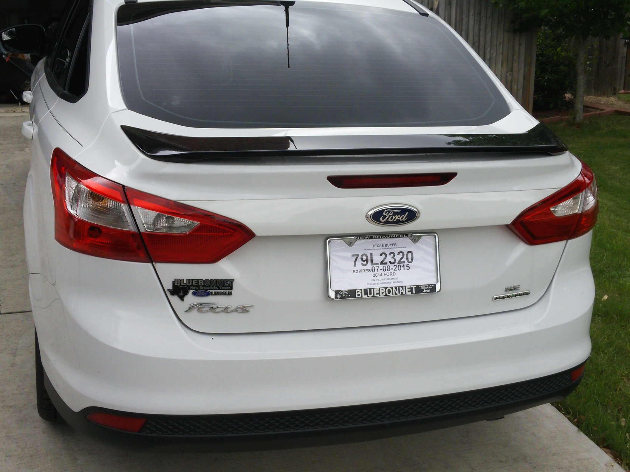 New 2014 ford focus se with black package 20150510_132144 jpg