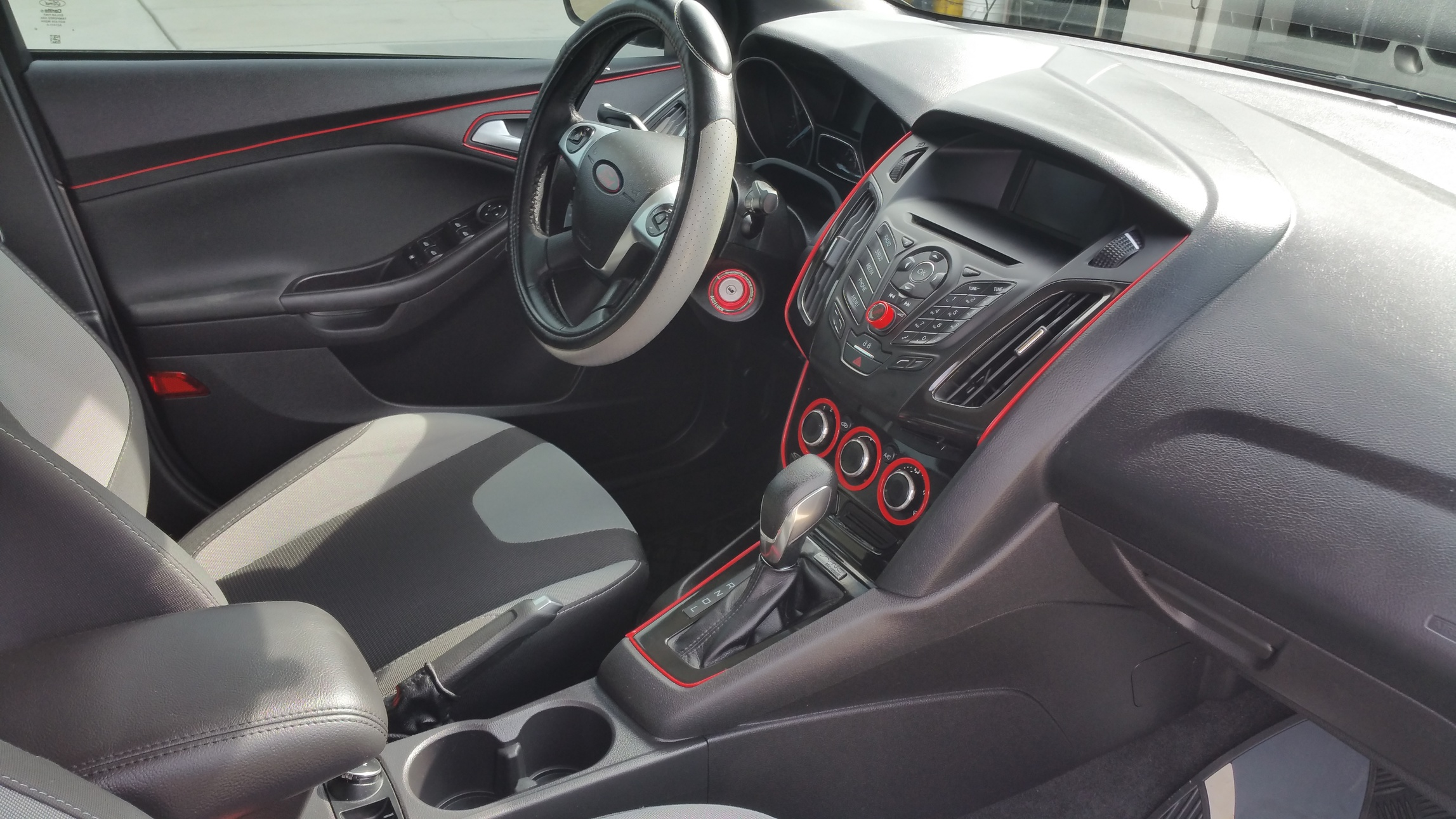 Interior mods i have done any suggestions or questions 20150526_160808jpg ford focus