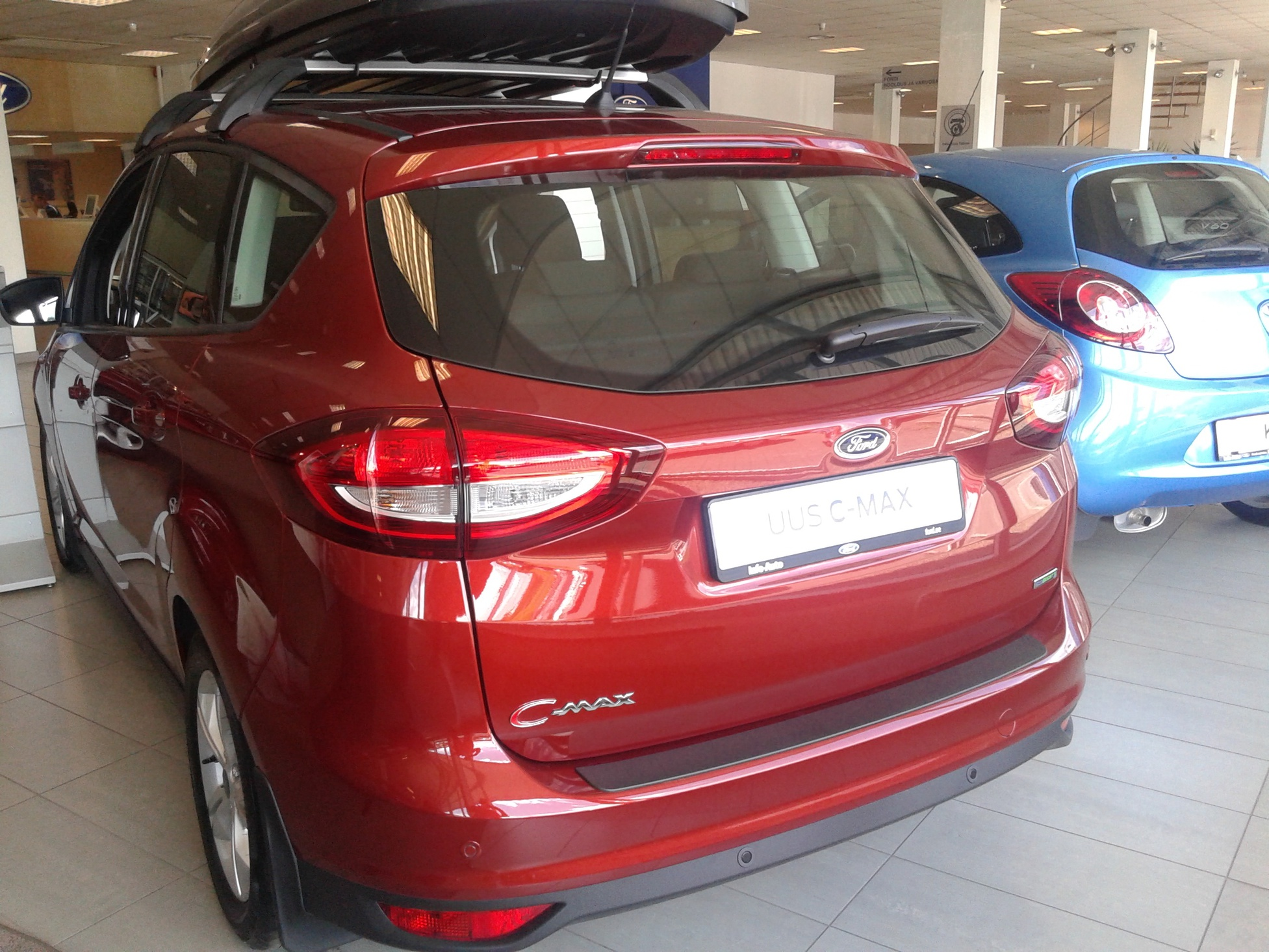 Car paint colour - New Paint Colour Red Rush From Ford Europe 20150616_124755 Jpg
