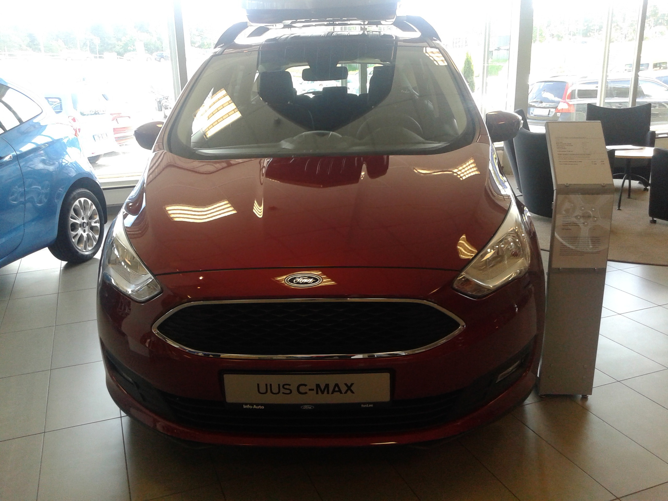 Car paint colour - New Paint Colour Red Rush From Ford Europe 20150616_124923 Jpg