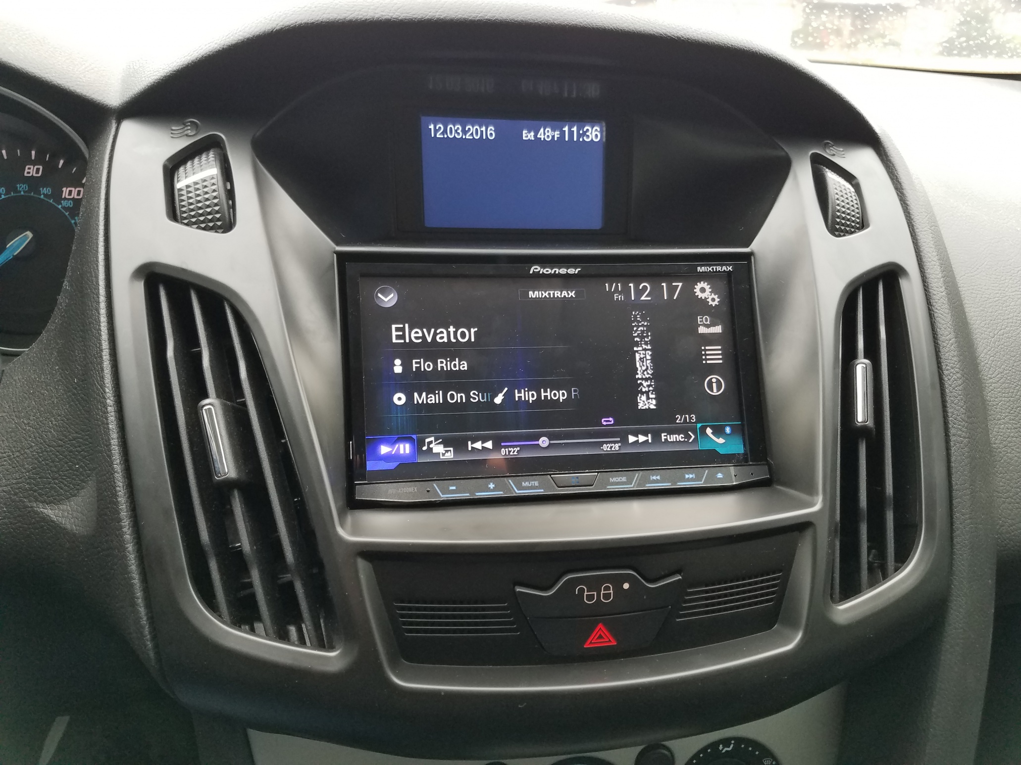 2007 ford focus stereo installation kit