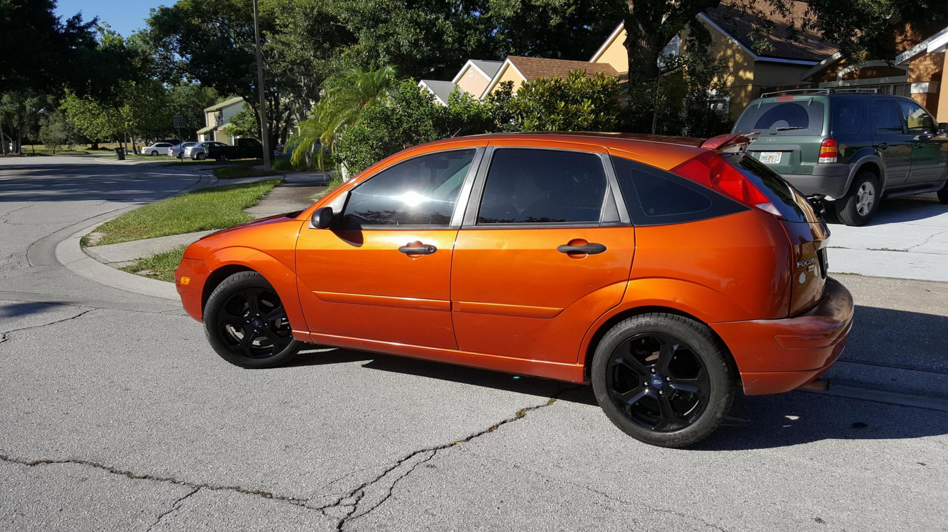 2015 fiesta st rims on an 05 zx5 ford focus forum ford. Black Bedroom Furniture Sets. Home Design Ideas
