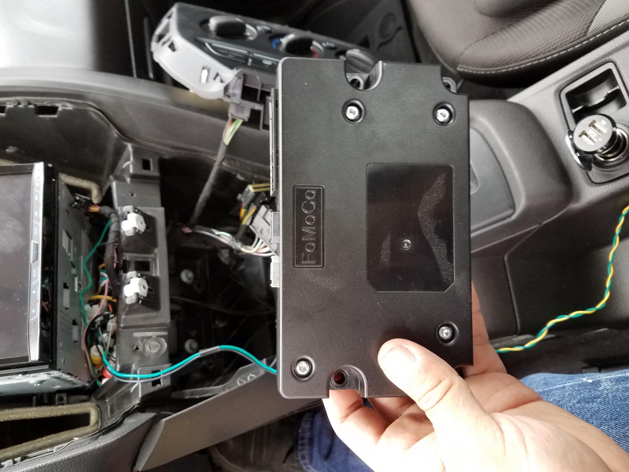 Mk3 Non-mft Sync  Apim  Removal