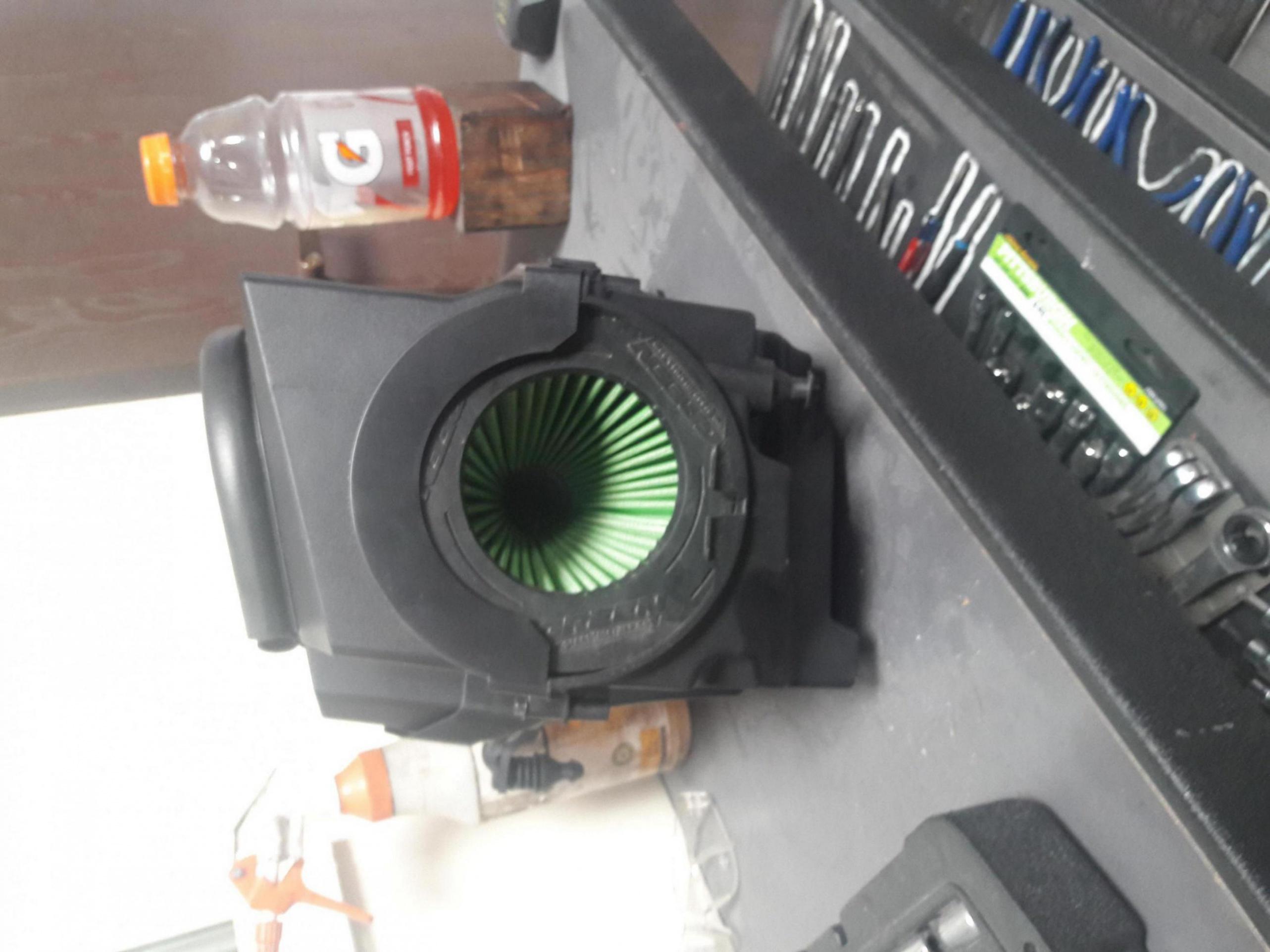 Focus rs airbox on focus se installed 20170518_162429_1495161039647 jpg