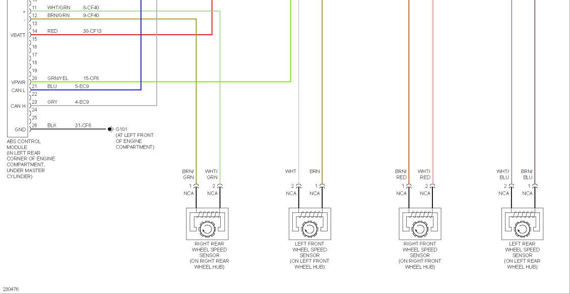 abs problem after rat ate wiring focus fanatics forum abs wiring diagram ford e-350 2006 ford abs wiring diagram #9