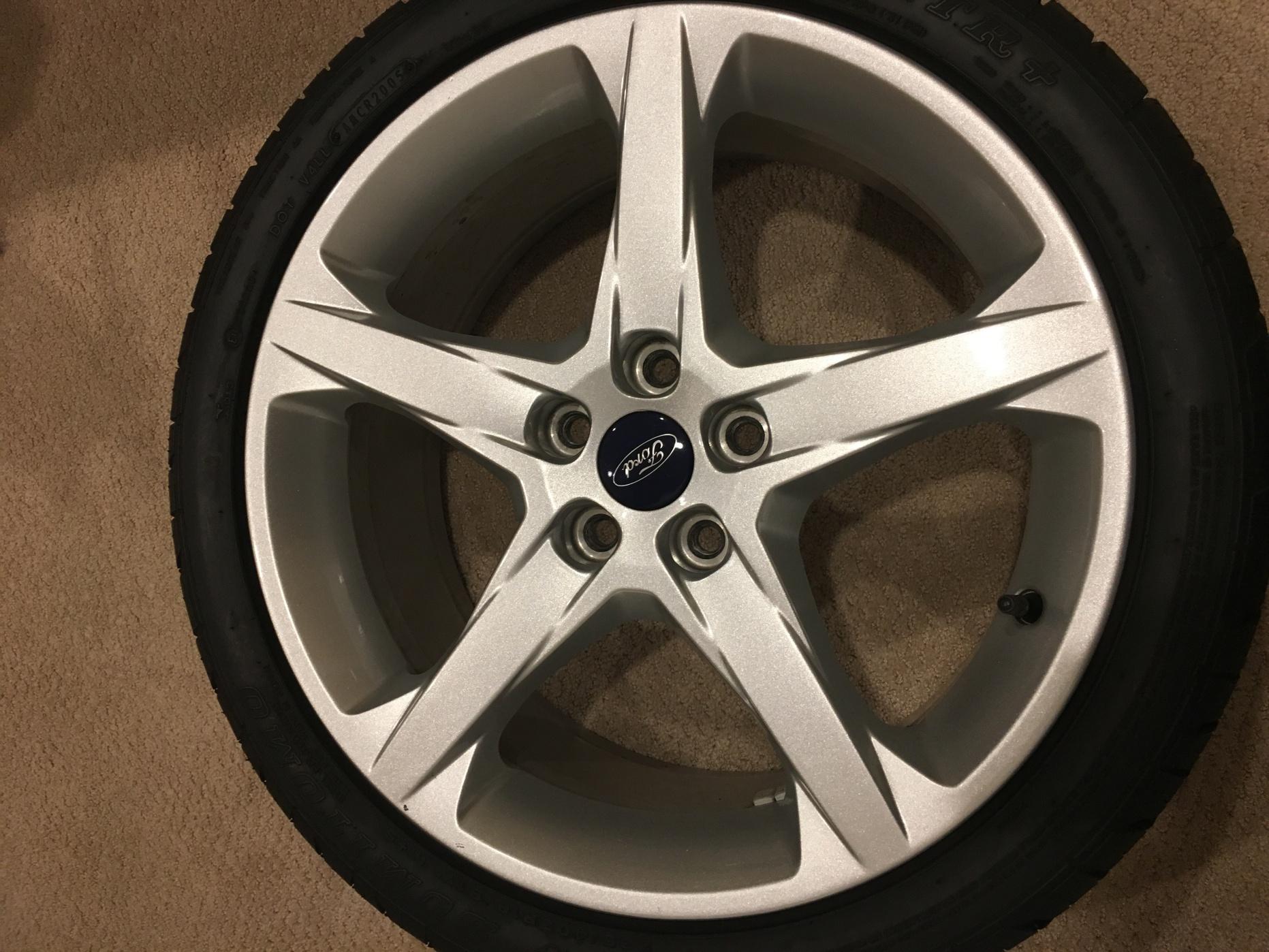 """For Sale: 18"""" Titanium Wheels & Tires-a00f542c-d933-4074-8b93-519a420875c7.jpg"""