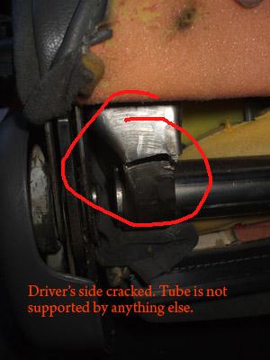 Broken, sagging drivers seat - right side. +pics-brokenseat2.jpg