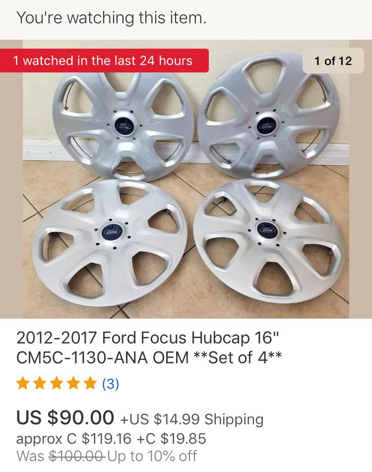 "LF: 2012-2018 Focus S 15"" hubcaps-cb0d4eca-8caa-48d2-8875-b3fc0bfd4f82_1567794474017.jpeg"