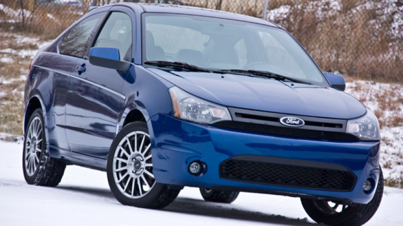 2009 coupe vs sedan front bumper cover fascia ford. Black Bedroom Furniture Sets. Home Design Ideas
