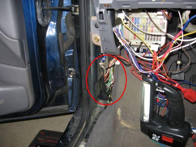 Remote Door Lock Wiring Diagram