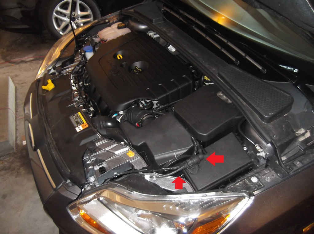 Engine Block Heater Reroute