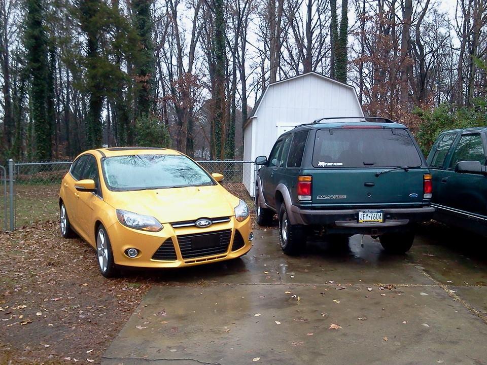 2012 Yellow Blaze Titanium Ford Focus Forum Ford Focus St Forum