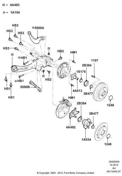 ford focus rear brake caliper diagram  u2013 periodic