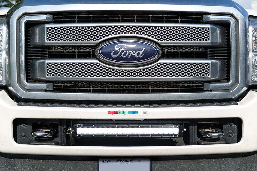 Anyone else blinded by carelessly mounted LED light bars? - Ford ...