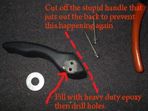 HOW-TO: Repair broken seat forward recliner handles (ZX3) - Ford ...