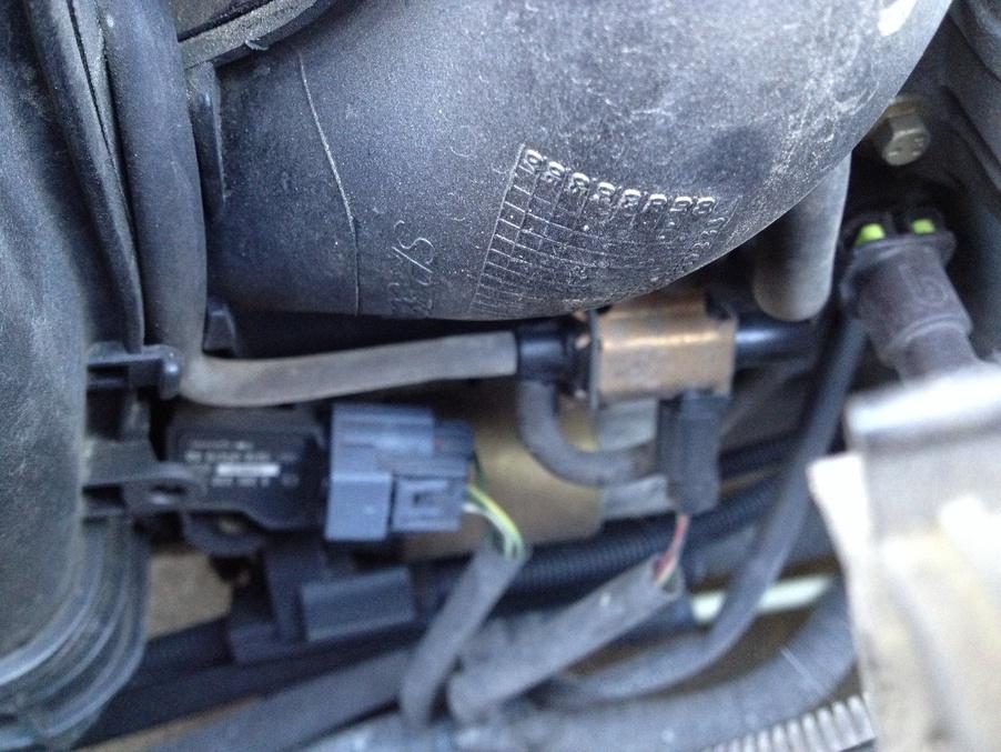 P2004 intake manifold runner control stuck open bank 1