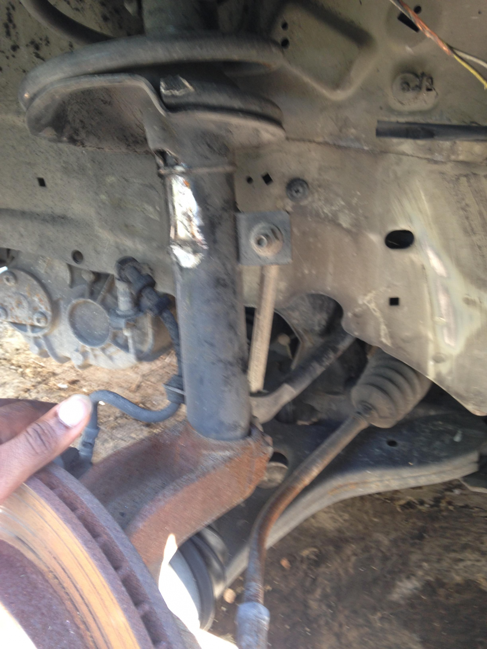 Help!! Plowed through a pothole damaged tie rod, ball joints and God knows what else.-image_1473972495490.jpg