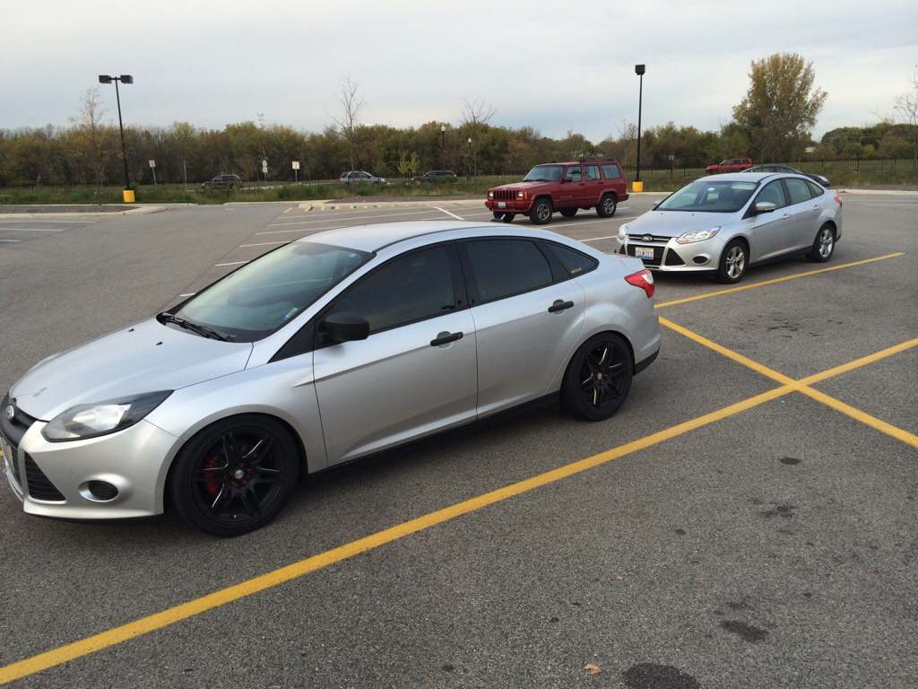 Black Or Chrome Rims On Silver Focus Sedan Page 2