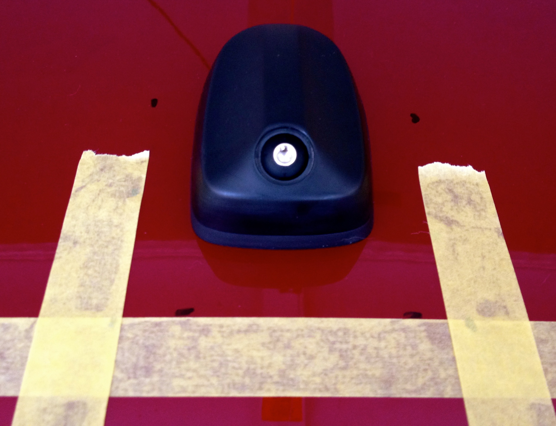 V G Sharkfin Antenna In Ruby Red Ford Focus Forum St 2014 Img 1508 2