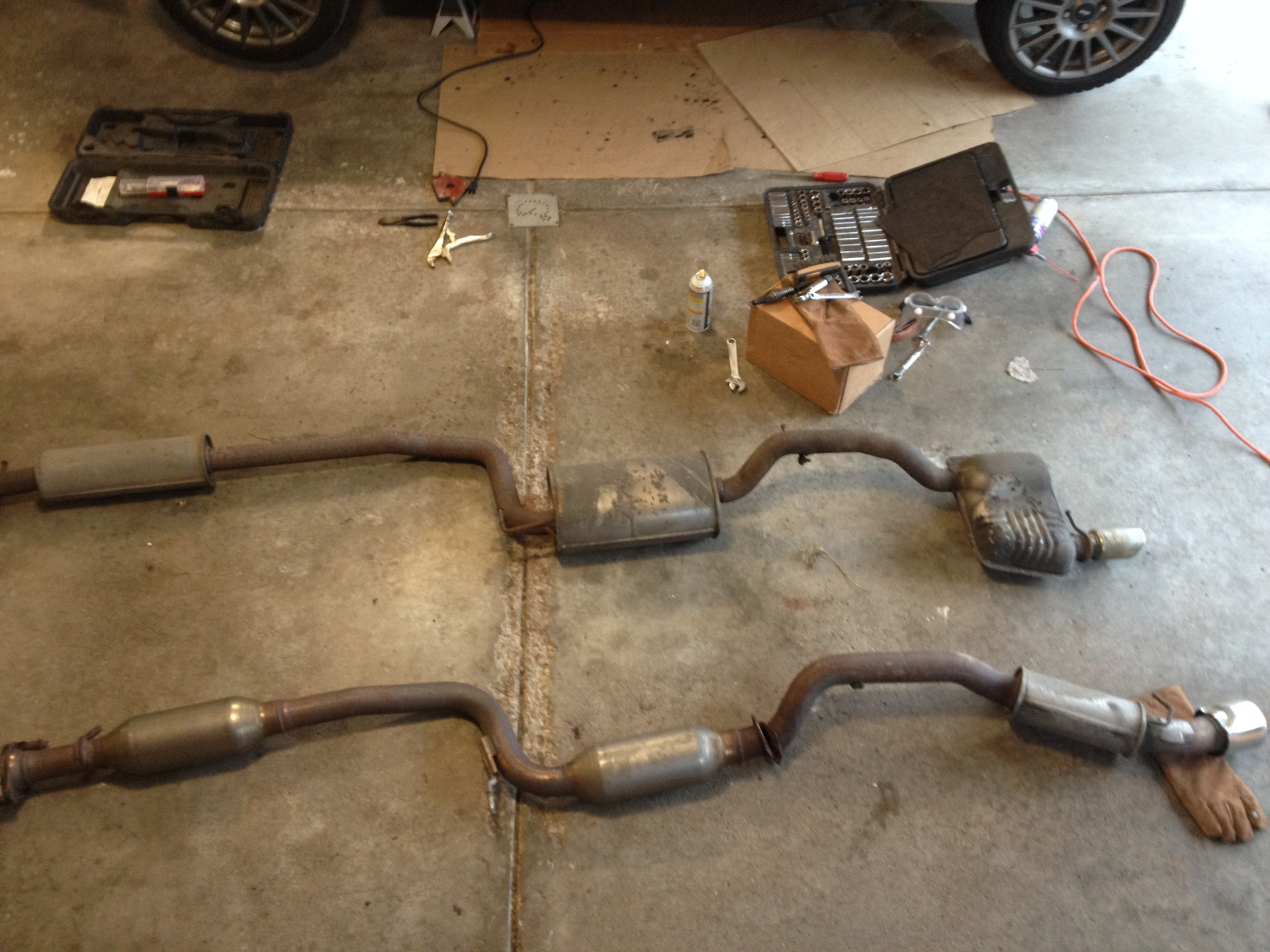 Orp And New Exhaust Ford Focus Forum Ford Focus St