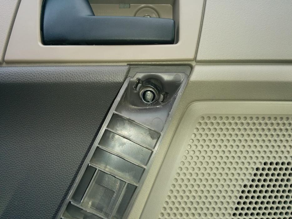 Stripped Screw In Door Handle Cant Remove Door Panel Now Ford
