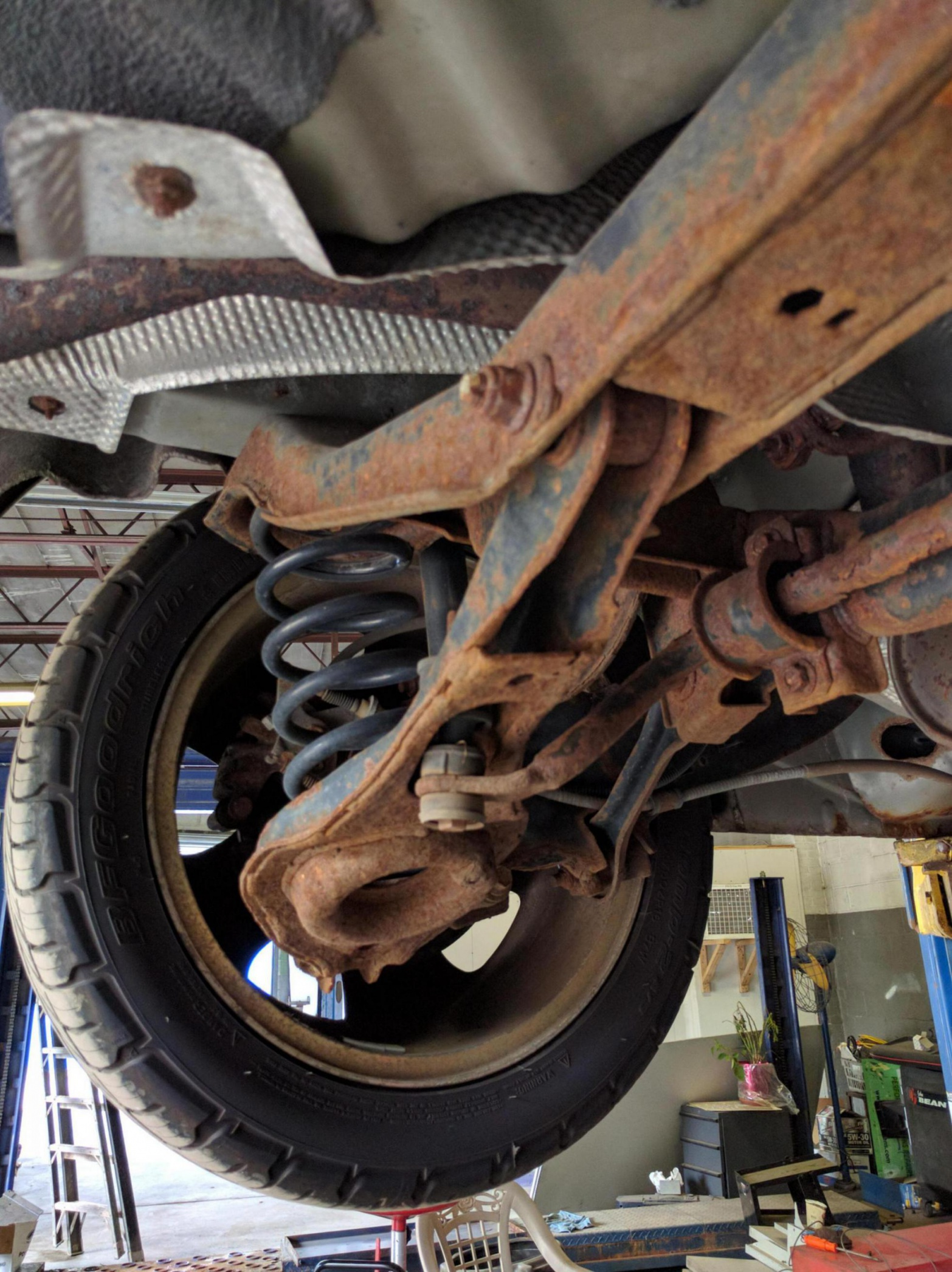 2005 Zx4 Rust On Rear Axle Ford Focus Forum Ford Focus