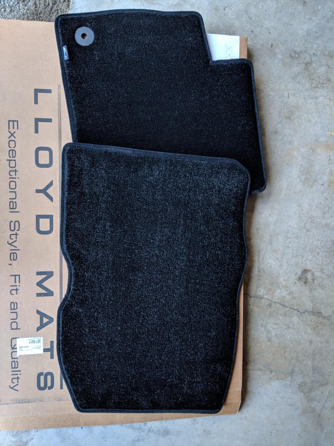 For Sale: Lloyd Mats (Black)-img_20180414_161941.jpg