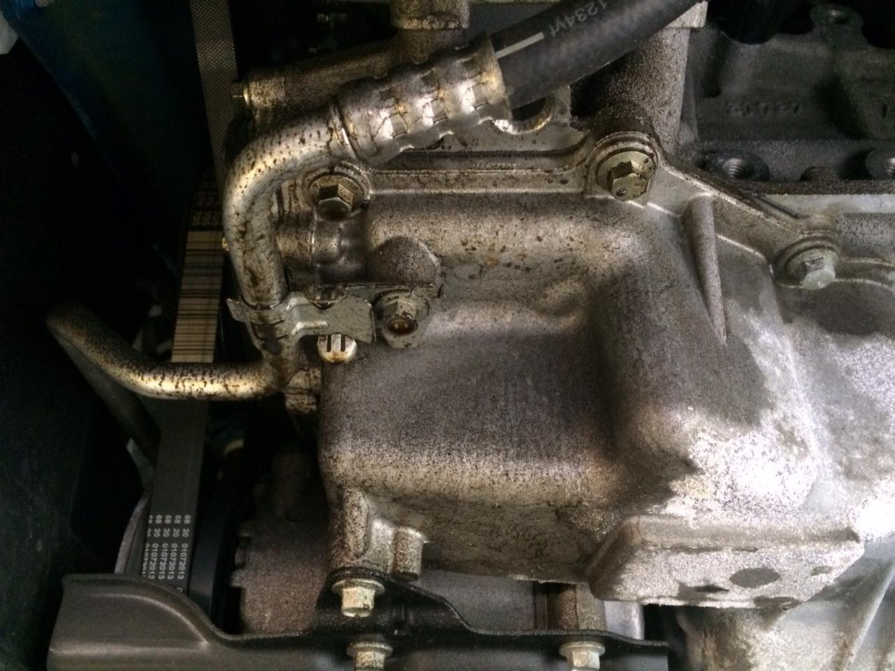 2014 Focus Se Oil Sweat Small Leak Ford Focus Forum
