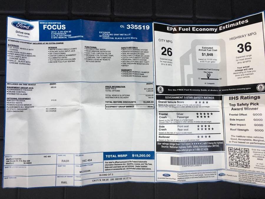 For Sale: 2012 Ford Focus SE 5 Speed-img_2934.jpg