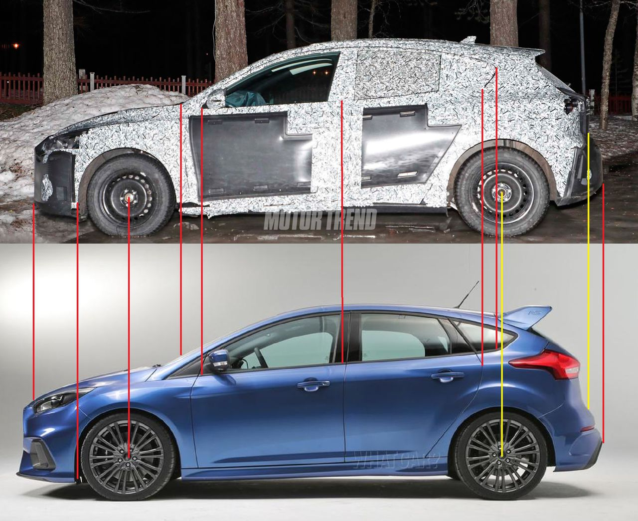 Ford Focus Mk4 >> Next-Generation 2019 Ford Focus Spied For the First Time ...