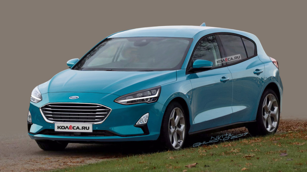 Next Generation 2019 Ford Focus Spied For The First Time