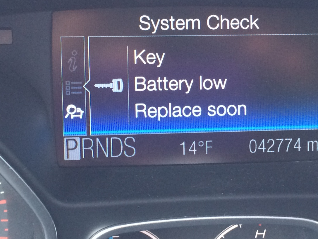 Key Fob Battery Low >> 2012 Ford Focus Key Fob Battery Type Ford Focus Review