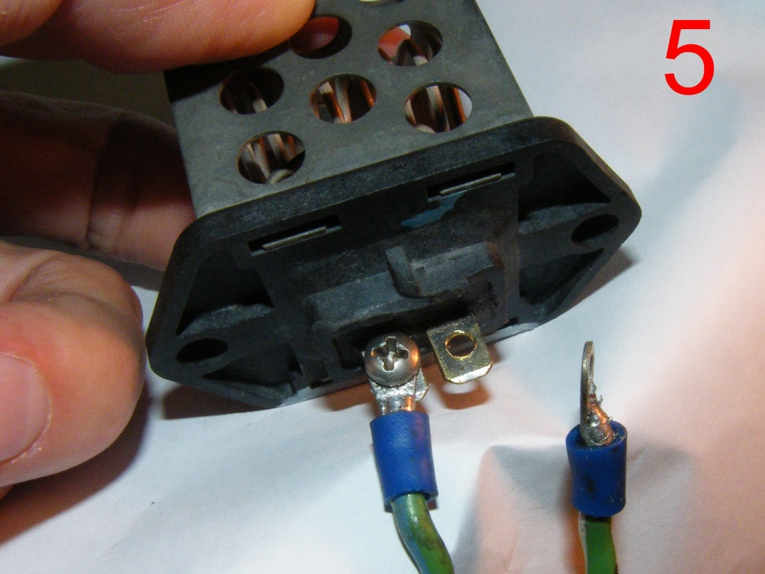 I Know My Cooling Fan Resistor Is Dead  Is The Connector As Well  - Page 3