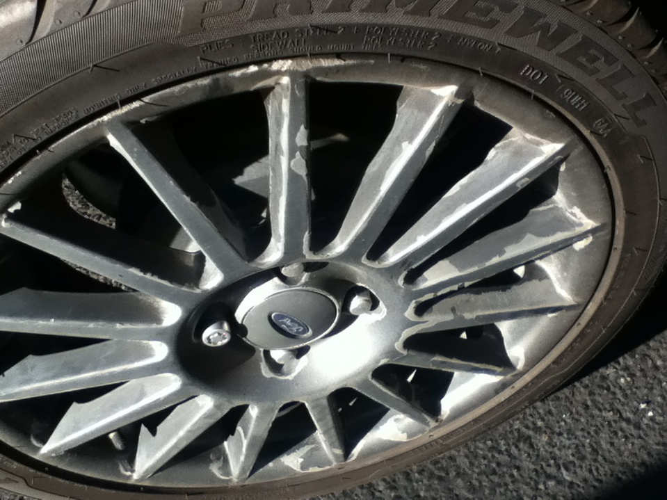 Alloy Rims Peeling And How To Fix Finish Ford Focus Forum Ford