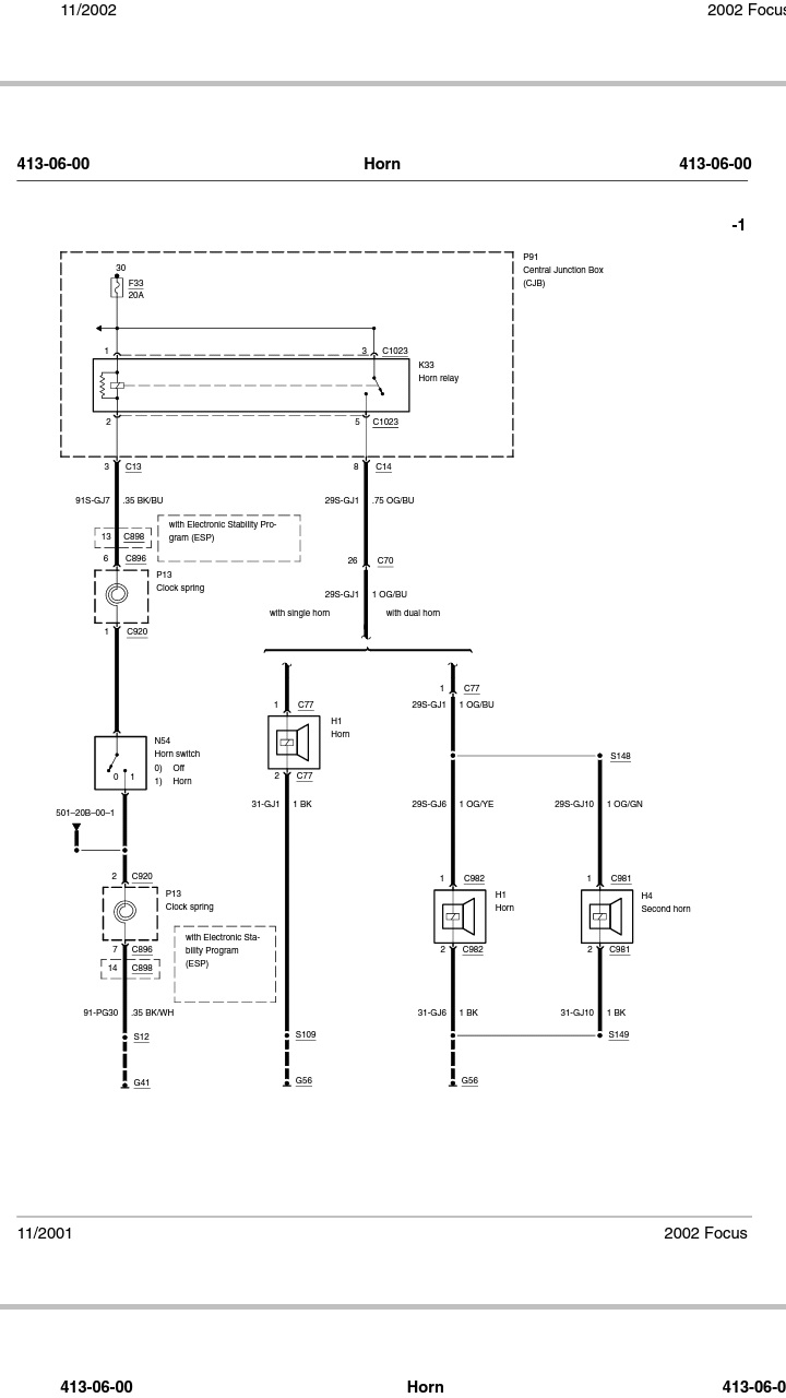 Horn Not Working  Horn Relay Buzzing - Page 2