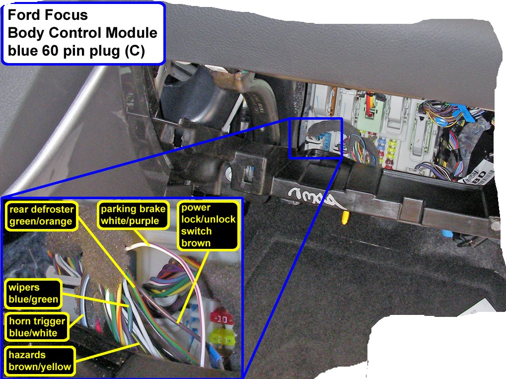 Rear defrost with remote start install Ford Focus Forum Ford – Lexus Rear Defroster Wiring-diagram