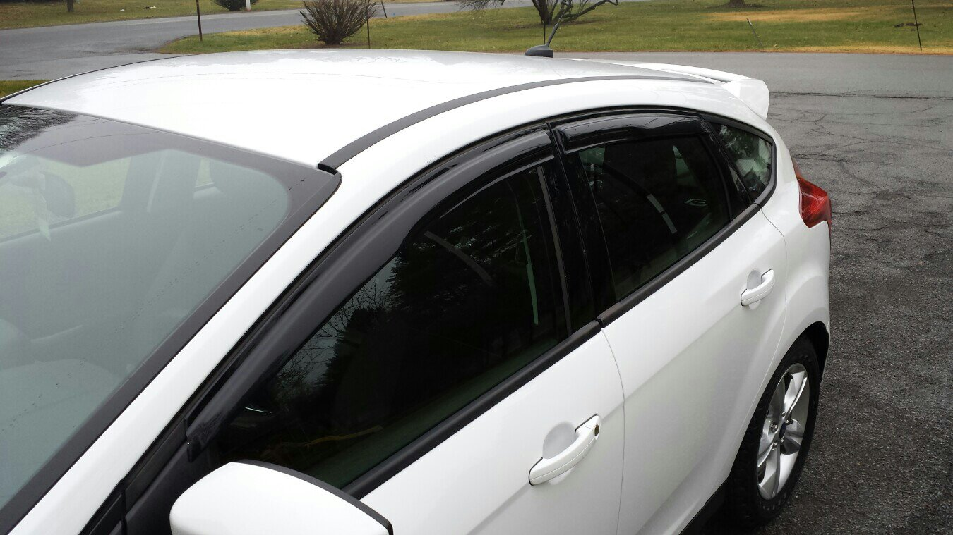 The Best Rain Guards Window Visors Page 2 Ford Focus