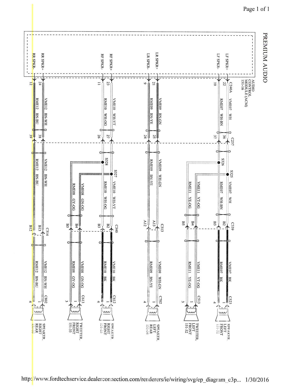 2015 Focus MK3.5 Stereo wiring diagram? | Focus Fanatics Forum | 2015 Ford Focus Wiring Diagram |  | Focus Fanatics