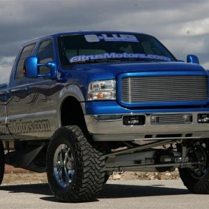 "I sooo want one! ""Ford F350 Grill Up"""