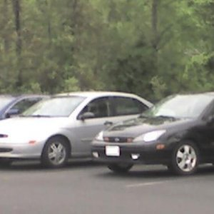 tk at work next to a foci that decided to park next to him