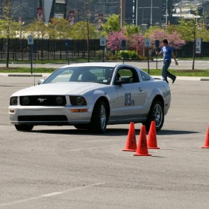 Philly SCCA Region event, Citizens Bank Park