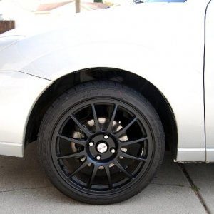 New rims, stock suspension height