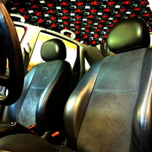 Recaro seats, custom headliner