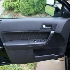 Cool new door panel detail